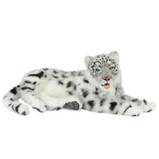 Leopard Jacquard Lying Hansa Realistic Animal Plush Toy 66cm Delivery