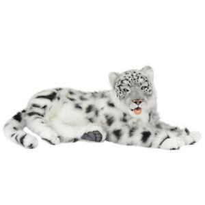 Leopard Jacquard Lying Hansa Realistic Animal Plush Toy 66cm **FREE DELIVERY**