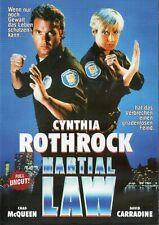 Martial Law (1990) - Cynthia Rothrock - DVD -