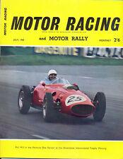Motor Racing - BRSCC journal - magazine - July 1960