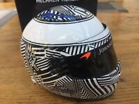 BELL MINI HELMETS Fernando Alonso 4182626 F1 McLaren & 4104364 Indy 500  1:2nd