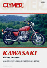CLYMER REPAIR MANUAL Fits: Kawasaki KZ650H CSR,KZ650B/F,KZ650E LTD,KZ650C Custom