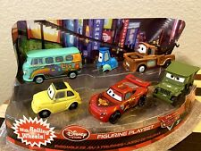 Disney Store Exclusive Figurine Playset Cars Set Of 6 Cake Toppers ⭐️⭐️⭐️