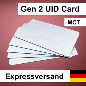 1-20 MCT gen 2 UID Clone Card 4-Byte NFC Tag kompatibel mit Mifare Classic 1k