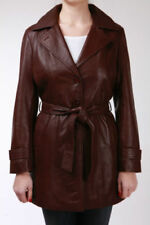 Cappotti e giacche da donna trench marrone con cerniera