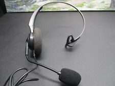Arama Wired Headset Mono w/Noise Canceling Mic for NEC Aspire Dterm Nortel...