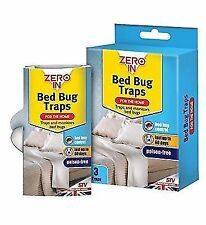 Zero In Poison Free Bed Bug Traps (ZER967) - 3 Pack