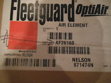 Fleetguard Af26168 Air Filter- New (Xref: Rs5325; P616641; 9168; 49168, 194-916)