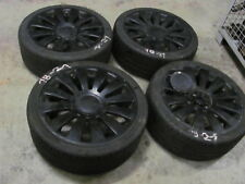 4 Sommerräder Alufelge schwarz Audi A8 8x19 ET35 255/35/19 96Y 5x112 5x100
