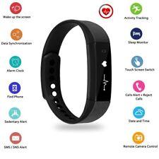 Uten Bluetooth Fitness Armband Blutdruck Smartband Pulsuhr Fitnesstracker IP67