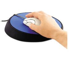 "Allsop Wrist Aid Ergonomic Circular Mouse Pad 9"" dia. Cobalt 26226"