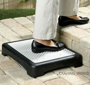 ELDERLY DISABILITY DOOR WALKING ANTI SLIP HALF STEP STOOL OUTDOOR MOBILITY AID