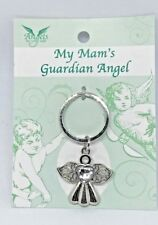 MY MAM'S  Guardian Angel key ring A Reminder your Angel is with you