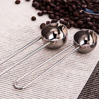 Coffee Tea Spice Measure Scoop Ice Stirring Spoon Stainless Steel Long Handle
