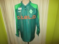 "Werder Bremen Original Puma Langarm Heim Trikot 1998/99 ""o.tel.o"" Gr.L"