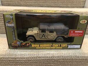 Ultimate Soldier 1:18 U.S. M998 Humvee (Soft Top) Troop Carrier, No. 10190