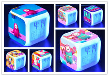 Fall Guys:Ultimate Knockout Alarm Clock Color Changing LED Night Watch Gift D