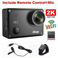 16M Ultra HD 2K Gitup Git2 Sports Action Camera DVR +Battery+Charger+Remote PRO