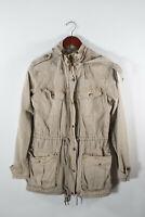 Aritzia Talula Womens XS Brown Khaki Trooper  Jacket Utility Lightweight Cotton