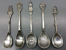 5 old Collecting spoons - Netherlands