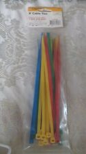 """New listing New 25 Pack Color 8"""" Cable Ties Color"""