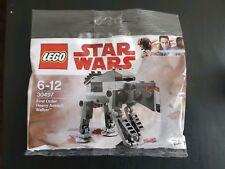 Lego Star Wars First Order Heavy Assault Walker Polybag 30497 Brand New Sealed