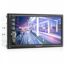 AUTORADIO MIT 18cm TOUCHSCREEN VIDEO BILDSCHIRM BLUETOOTH USB SD MP3 DOPPEL 2DIN