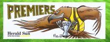AFL HAWTHORN 2013 PREMIERS BUMPER STICKER Herald Sun