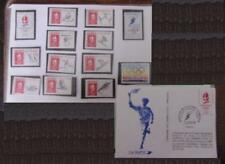 SERIE TIMBRES – XVI JEUX OLYMPIQUES d'ALBERTVILLE - 1992  - (MB-139)