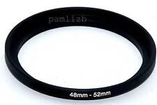 48-52mm  camera lens Filter stepping  adapter ring ,    48mm - 52mm