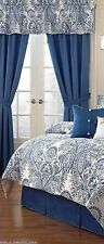 Raymond Waites Feris Drapery Panels Blue In Package $120.00 Several Available