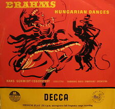 Hamburg Radio Symphony Orch. - Brahms: Hungarian dances (GB)  25 cm LP