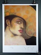 "Ramon Santiago ""La Bella""Hand Signed Lithographic Print"