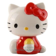 JAPAN  HELLO KITTY 3D MINI CERAMIC COIN BANK ORNAMENT 478709