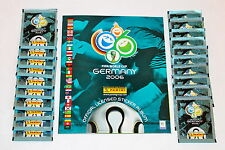 Panini WC WM Germany 2006 06 – 20 Tüten packets sobres + Leeralbum empty album