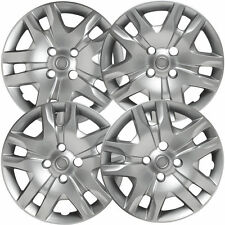 "NEW 16"" Silver HubCaps Wheel Rim Covers Fits 2007-2012 Nissan Sentra SET OF 4"