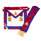 New Masonic Royal Arch Principals Apron, Sash, Jewel & Gloves RA Chapter Regalia