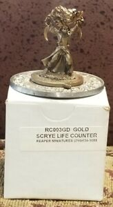 Reaper Miniatures Scrye Life Counter -  RC003GD Gold - MTG - Vintage 1994 - NEW