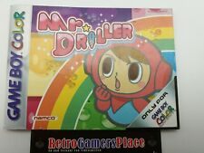 Mr. Driller - Game Boy Color- Anleitung B-Ware