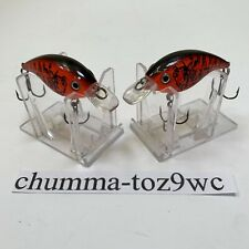 Square-Bill Crankbaits (Lot Of 2) 1.5 Red Craw/Black Back BRAND NEW! (DS)!