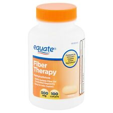 EQUATE Fiber Therapy Methylcellulose 500mg Capsules - 100 Count