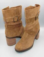 """MALVET DORIS"" Clark's Women/Ladies TAN Suede Boots size UK 5 D."