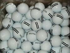 300 - New Range Balls Black Stripe Golf Balls - 25 Dozen