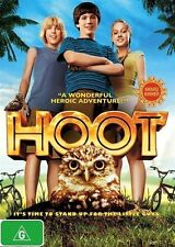 HOOT DVD BRAND NEW SEALED OUTSTANDING Family MOVIE BEST SELLING [NOVEL] OWLS R4