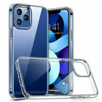Hülle für iPhone 12 Pro /Max Silikon Schutzhülle Handyhülle TPU Tasche Klar Slim