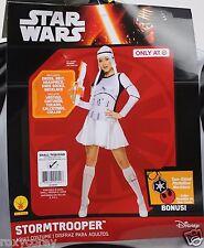 Adult Star Wars Womens Stormtrooper Costume Size Small 6-10 Dress Belt Headpiece