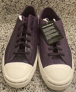 Converse x Pop Trading Co. Jack Purcell Purple Dragon Skin Size 11