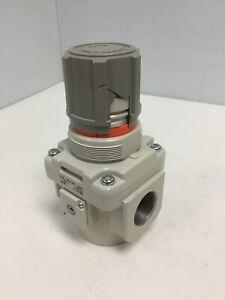 "SMC AR50-N10-Z-B Regulator AR Mass Pro, 1"" NPT, Pressure: 7-125psi *Damaged*"