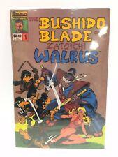 The Bushido Blade of Zatoichi Walrus #1 Comic Book Solson 1986