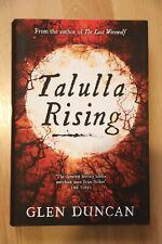 Glen Duncan - Tallula Rising signed first edition